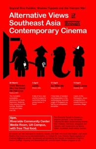 Alternative Views of Southeast Asia through Contemporary Cinema flyer